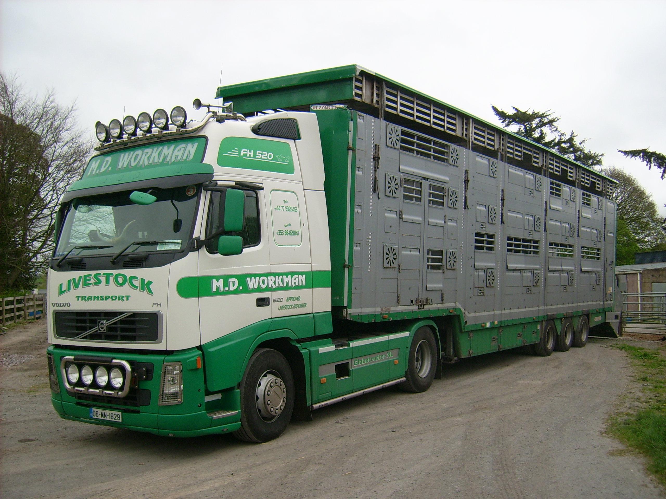 Workman Livestock Transport